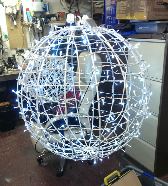 Bespoke balls for Christmas decoration