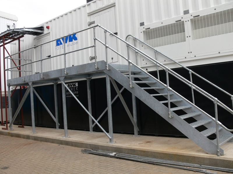 Superior Industrial Staircase And Handrails ...